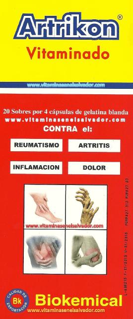 Artrikon Vitaminado